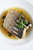 A plate of fish in a sauce Paul Dodds / Scottish Viewpoint food,eat,sauce,people,plate,plates,no people,dish