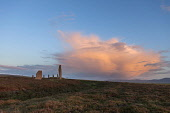 Evening clouds over The Ring of Brodgar Neolithic stone circle, Mainland, Orkney. Andy Bennetts / Scottish Viewpoi 2011,summer,dusk,atmospheric,attraction,visitor,visitors,tourist,tourists,tourism,history,heritage,historic,scotland,hs,island,islands,isle,isles