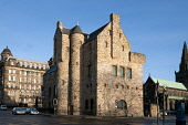 St Mungo Museum of Religious Life and Art on Castle Street, east of the city centre of Glasgow. Allan Wright / Scottish Viewpoin 2007,winter,sunny,sunshine,architecture,architectural,building,buildings,attraction,visitor,tourist,heritage,history