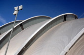 A roof detail of the Armadillo / Clyde Auditorium, west of the city centre of Glasgow. Ross Graham / Scottish Viewpoint winter,sunny,sunshine,architecture,architectural,building,buildings,attraction,visitor,tourist,venue,secc,exhibition,conference,centre,finnieston,abstract,pattern