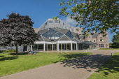 Eden Court Theatre - a large theatre, cinema and arts venue situated in Inverness, Highlands of Scotland. D.G.Farquhar/ Scottish Viewpoint summer,sunny,sunshine,attraction,attractions,visitor,tourist,art,architecture,architectural,building,buildings,extension,modern