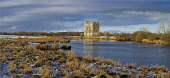 A panoramic view of Threave Castle and River Dee, near Castle Douglas, Dumfries and Galloway. Allan Wright / Scottish Viewpoin winter,sunny,sunshine,snow,snowy,fall,snowfall,cold,water,attraction,attractions,visitor,tourist,history,heritage,historic,scotland,hs,ruin,ruins,ruined