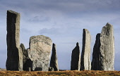 The Callanish Stones, a cross-shaped setting of standing stones erected around 3000 BC, Callanish, Isle of Lewis, Outer Hebrides. Andrew Wilson / Scottish Viewpoi 2014,winter,sunny,sunshine,calanais,callanish,standing,stones,isle,Lewis,Outer,Hebrides,Western,ancient,megalithic,monument,stone,age,stone-age,island,islands,isles,attraction,attractions,visitor,tour
