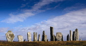The Callanish Stones, a cross-shaped setting of standing stones erected around 3000 BC, Callanish, Isle of Lewis, Outer Hebrides. Andrew Wilson / Scottish Viewpoi 2014,winter,sunny,sunshine,calanais,callanish,standing,stones,stone,circle,isle,Lewis,Outer,Hebrides,Western,ancient,megalithic,monument,age,stone-age,island,islands,isles,attraction,attractions,visit