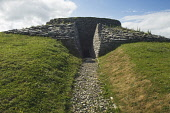 Quoyness Chambered Cairn, Sanday, Orkney. Picture Credit : Iain Sarjeant / Scottish Viewpoint  Tel: +44 (0) 131 622 7174  E-Mail : info@scottishviewpoint.com  Web: www.scottishviewpoint.com This photo... 2012,summer,sunny,island,islands,isle,isles,attraction,visitor,tourist,remains,heritage,archaelogy,archaelogical,historic,scotland,hs,neolithic,bronze,age,entrance