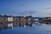Whitehall at dusk, Stronsay, Orkney. Picture Credit : Iain Sarjeant / Scottish Viewpoint  Tel: +44 (0) 131 622 7174  E-Mail : info@scottishviewpoint.com  Web: www.scottishviewpoint.com This photograph... 2012,summer,island,islands,isle,isles,coast,coastal,coastline,water,sea,atmospheric,reflection,cottage,cottages,housing,house,houses,village