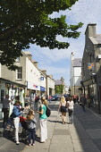 Albert Street, Kirkwall, Mainland, Orkney. Picture Credit : Iain Sarjeant / Scottish Viewpoint  Tel: +44 (0) 131 622 7174  E-Mail : info@scottishviewpoint.com  Web: www.scottishviewpoint.com This phot... 2012,people,person,visitors,visitor,retail,shop,shopper,shoppers,shopping,shops,specialised,summer,sunny,island,islands,isle,isles,pedestrianised