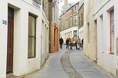 Graham Place leading to Dundas Street, Stromness, Mainland, Orkney. Picture Credit : Iain Sarjeant / Scottish Viewpoint  Tel: +44 (0) 131 622 7174  E-Mail : info@scottishviewpoint.com  Web: www.scotti... 2012,summer,island,islands,isle,isles,people,person,visitors,visitor,house,houses,housing,pedestrianised