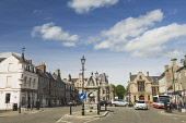 The town of Huntly, Aberdeenshire Iain Sarjeant / Scottish Viewpoi 2013,summer,towns,cars,car,bus,buses