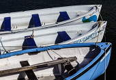 Sea Cadet rowing boats tied up at Stonehaven, Aberdeenshire, Scotland Bill McKenzie/ Scottish Viewpoin nobody,boat,rowing,summer,outdoors,Scotland,Scottish,UK,U.K,Great Britain