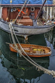 Boats moored in a harbour, Buckie, Moray, Scotland Bill McKenzie/ Scottish Viewpoin boats,reflections,reflection,summer,nobody,outdoors,Scotland,Scottish,UK,U.K,Great Britain