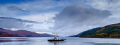 The Corran ferry in Loch Linnhe Highlands of Scotland Andrew Wilson/ Scottish Viewpoin Ardgour,Corran,ferry,highlands,sea,ship,vessel,coast,coastal,coastline,water,autumn,ferries,transport,atmospheric,nobody,outdoors,boat,boats,uk,u.k,Great Britain,GB,G.B.