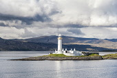 Lismore Lighthouse, Argyll, Scotland Richard Burdon / Scottish Viewpo Scotland,Scottish,UK,U.K,Great Britain,nobody,outdoors,daytime,coast,coastal,coastline,water,sea,summer,sunny,island,islands,isle,isles