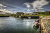 The harbour at Sandside, Caithness, Highlands of Scotland Bill McKenzie / Scottish Viewpoi horizontal,outside,outdoors,day,summer,sunny,harbour,Sandside,bay,Caithness,Highland,Scotland,Scottish,UK,U.K,Great Britain,nobody,building,HDR,coast,coastal,coastline,water,sea,wall,boats,atmospheric