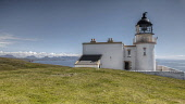 The Stoer Head Lighthouse - now available as self catering accommodation on Stoer Head, Sutherland, Highlands of Scotland. Bill McKenzie / Scottish Viewpoi horizontal,outside,outdoors,day,summer,sunny,blue sky,Stoer Head,lighthouse,Sutherland,Highland,Scotland,Scottish,UK,U.K,Great Britain,nobody,building,HDR,coast,coastal,coastline,water,sea,self cateri