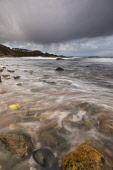 Incoming tide looking west along the foreshore towards Laide Jetty, Laide, Wester Ross, Highlands of Scotland Chris Lauder/ Scottish Viewpoint Laide,highlands,atmospheric,scotland,scottish,uk,u.k,great,britain,nobody,outddoors,daytime,loch,lake,spring,beach,bay,coast,coastal,coastline,water,tide incoming,pebbles,rocks,clear water,tidal,remot