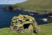 The archipelago of St Kilda, Outer Hebrides, Scotland Allan Wright/ Scottish Viewpoint uk,u.k,Great Britain,GB,G.B,Scotland,Scottish,nobody,outdoors,daytime,Summer,st kilda,Outer Hebrides,world heritage site,archipelago,coast,coastal,coastline,water,sea,island,islands,cleit