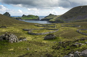 The archipelago of St Kilda, Outer Hebrides, Scotland Allan Wright/ Scottish Viewpoint uk,u.k,Great Britain,GB,G.B,Scotland,Scottish,nobody,outdoors,daytime,Summer,st kilda,Outer Hebrides,world heritage site,archipelago,coast,coastal,coastline,water,sea,island,islands,hirta,cleits