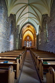 Dornoch Cathedral, Sutherland, Highlands of Scotland Dennis Barnes/ Scottish Viewpoin uk,u.k,Great Britain,GB,G.B,Scotland,Scottish,nobody,indoors,daytime,dornoch,highlands,highland,autumn,autumnal,cathedral