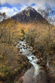 Buachaille Etive Mor, Highlands of Scotland Andrew Ray/ Scottish Viewpoint uk,u.k,Great Britain,GB,G.B,Scotland,Scottish,nobody,daytime,outdoors,autumn,autumnal,rannoch moor,Buachaille Etive Mor,river,rivers,mountain,mountains,hill,hills,munro,coupall