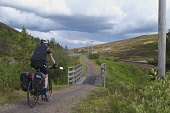 Male cyclist heading south on A9 cyclepath near Dalwhinnie, Highlands of Scotland Mark Ferguson/ Scottish Viewpoin uk,u.k,Great,Britain,GB,G.B,Scotland,Scottish,1 person,daytime,outdoors,road,rural,activity,activities,cycling,cyclist,cyclists,bike,bikes,biking,biker,bikers,bicycle,bicycles,mountain,path,dalwhinnie
