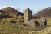 Rodel church near Leverburgh in south Harris, Isle of Harris, Outer Hebrides, Scotland Mark Ferguson/ Scottish Viewpoin uk,u.k,Great,Britain,GB,G.B,Scotland,Scottish,nobody,daytime,outdoors,spring,Harris,western isles,outer,Hebrides,island,islands,isle,isles,rodel,church