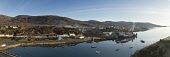 Calm morning at Tarbert as the ferry prepares to leave for Uig, Isle of Harris, Outer Hebrides, Scotland Mark Ferguson/ Scottish Viewpoin uk,u.k,Great,Britain,GB,G.B,Scotland,Scottish,nobody,daytime,outdoors,spring,Harris,western isles,outer,Hebrides,Tarbert,caledonian,macbrayne,cal,mac,calmac,ferry,ferries,transport,travel,travelling,b