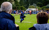 Peebles, Scotland UK  3rd September 2016. Peebles Highland Games, the biggest 'highland' games in the Scottish  Borders took place in Peebles on September 3rd 2016 featuring pipe band contests, highla... Andrew Wilson / Scottish Viewpoint uk,u.k,Great Britain,GB,G.B,Scotland,Scottish,group,daytime,outdoors,Highland Games,competitions,borders