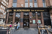 Blackfriars pub in Merchant City district of Glasgow, United Kingdom Iain Masterton / Scottish Viewpoint Glasgow,Blackfriars,Merchant City,pub,bar,pubs,bars,exterior,district,Scotland,Scottish,daytime,outdoor,United Kingdom,Britain,British,UK,city,cities,europe,european