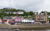 View of buildings in central Oban, Argyll and Bute, Scotland, United Kingdom Iain Masterton / Scottish Viewpoint Oban,street,centre,Scotland,Scottish,argyll,Bute,exterior,building,travel,tourism,United Kingdom,UK,Britain,British,daytime