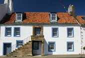 Traditional fishermens housing in St Monans village in Fife Scotland Iain Masterton / Scottish Viewpoint Architecture,Britain,Fife,Old,Scotland,St Monans,Tradition,United Kingdom,culture,historic,house,housing,outside,residential,village