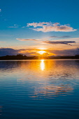Sunset over the Lake of Menteith  Scotland D.G.Farquhar/ Scottish Viewpoint Britain,Dusk,EU,Europe,Evening,GB,Great Britain,Lake,Lake of Menteith,Loch,Scotland,Stirling District,Sunset,UK