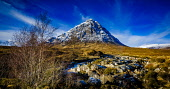 Buachaille Etive Mor at the head of Glen Etive, Rannoch Moor, Highlands of Scotland Andrew Wilson/ Scottish Viewpoint uk,u.k,Great Britain,GB,G.B,Scotland,Scottish,nobody,daytime,outdoors,Buachaille,Etive,Mor,Highlands,Rannoch Moor,snow,winter