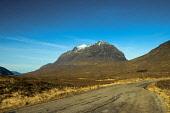 The Munro of Liathach, from the North Coast 500, Ross & Cromarty, Highlands of Scotland Keith Fergus/ Scottish Viewpoint uk,u.k,Great Britain,GB,G.B,Scotland,Scottish,nobody,daytime,outdoors,Highlands,Northwest Highlands,Liathach,Munro,Munros,NC500,North Coast 500,Mountains,Torridon,Hill,path,track