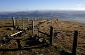 Tinto Hill, South Lanarkshire, (Near Biggar). Tinto is an outlying hill of the Southern Uplands. Iain McLean/ Scottish Viewpoint uk,u.k,Great Britain,GB,G.B,Scotland,Scottish,nobody,daytime,outdoors,tinto,hill,south lanarkshire,stile,fence,viewpoint