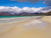 Luskentyre Beach, Harris, Western Isles,  Outer Hebrides, Scotland Allan Coutts/ Scottish Viewpoint uk,u.k,Great Britain,GB,G.B,Scotland,Scottish,nobody,daytime,outdoors,beach,breaker,cloud,cloudy,coast,coastline,harris,hebrides,isle,landscape,luskentyre,nature,no,ocean,outer,people,sand,sandy,sky,s