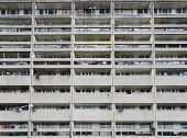 Exterior of Cables Wynd House apartment building , also known as the Banana Flats, in Leith, Edinburgh, Scotland. Iain Masterton/ Scottish Viewpoint Cables Wynd,House,Leith,Edinburgh,Banana Flats,social housing,apartment block,flats,apartments,building exterior,council houses,property,estate,high-rise,highrise,high rise,facade,Scotland,Scottish,ba