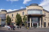 Overgate Shopping Mall in Dundee, Scotland, United Kingdom Iain Masterton/ Scottish Viewpoint Overgate,Shopping Mall,shopping centre,center,building exterior,Dundee,Scotland,United Kingdom,Europe,European,Britain,exterior,shopping,shops,street,retail,modern
