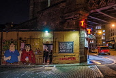 McKinnons pub, St Andrew lane, Gallowgate at night, Glasgow, Scotland Allan Wright/ Scottish Viewpoint uk,u.k,Great Britain,GB,G.B,Scotland,Scottish,people,nightime,outdoors,glasgow,McKinnons pub,St Andrew lane,Gallowgate,nightlife,pubs