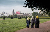 Street scenes , Glasgow, Scotland Glasgow Green Editorial use only Allan Wright/ Scottish Viewpoint uk,u.k,Great Britain,GB,G.B,Scotland,Scottish,people,daytime,outdoors,glasgow,urban,life,city,cities,scene,women,girls,woman,walking