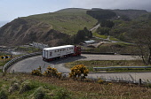 berriedale braes, articulated lorry, hgv, hairpin, switchback. Caithness, Highlands of Scotland Mark Hicken/ Scottish Viewpoint uk,u.k,Great Britain,GB,G.B,Scotland,Scottish,nobody,daytime,outdoors,berriedale braes,articulated lorry,hgv,hairpin,slope,switchback,sutherland,bend
