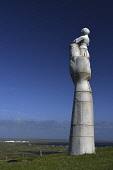 lady of the isles,statue,ruabhal, South Uist, Outer Hebrides, Scotland Mark Hicken/ Scottish Viewpoint uk,u.k,Great Britain,GB,G.B,Scotland,Scottish,nobody,daytime,outdoors,lady of the isles,statue,virgin mary,hew lorimer,ruabhal,hill,1957,south uist,western isles,outer hebrides,island,islands,isle,isl