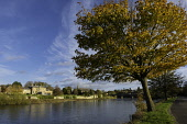 View of River Tweed in Kelso in the Scottish Borders, Scotland, United Kingdom Iain Masterton/ Scottish Viewpoint Kelso,River Tweed,Scotland,Scottish,rivers,Borders,view,town,towns,travel,tourism,daytime
