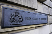 Exterior of High Court of Justiciary on Royal Mile in Old Town of Edinburgh, Scotland, United Kingdom Iain Masterton/ Scottish Viewpoint Edinburgh,High Court of Justiciary,Scotland,Scottish,law,Scots Law,legal system,United Kingdom,UK,exterior,nobody