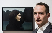 Edinburgh, Scotland, United Kingdom. 14 December, 2017.   Artist Thomas Ehretsmann and his painting Double Portrait at The BP Portrait Award 2017exhibition which opens at the Scottish National Portrai... Iain Masterton/Scottish Viewpoint BP Portrait Awart,2017,Scottish National Portrait Gallery,Edinburgh,competition,Scotland,Scottish,exhibition,opening,UK,Britain,British