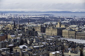 View over city centre of Edinburgh during winter after a snowfall, Scotland, United Kingdom. Iain Masterton/Scottish Viewpoint Edinburgh,city centre,Edinburgh Skyline,Edinburgh cityscape,winter,snow,wintry,cold,weather,view,travel,tourism,Scotland,Scottish,city,over,looking down,urban,cityscape,skyline,UK,United Kingdom,Brita