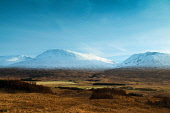 Beinn Achaladair and the Wall of Rannoch, Argyll & Bute, Scotland Keith Fergus/Scottish Viewpoint uk,u.k,Great Britain,GB,G.B,Scotland,Scottish,nobody,daytime,outdoors,Highlands,The Wall of Rannoch,Beinn Achaladair,Mountain,Munro,Munros,Winter,Highland,snow,mountains,hill,hills
