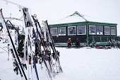 Glenshee, Scotland, United Kingdom. 3 February, 2018. New snow falls at Glenshee Ski Centre in the Cairngorms brought many skiers eager to enjoy the good calm conditions. The weather is expected to be... Iain Masterton/Scottish Viewpoint Glenshee,scotland,Scottish,skiing,Glenshee Ski centre,Cairngorms,Cairngorm Mountains,winter,snow sports,winter sports,outdoor,center,UK,United Kingdom,Britain,British,activities,snow,sport,Skiing in S