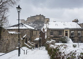View of Edinburgh Castle after snow from the historic Vennel steps at Grassmarket in Edinburgh Old Town, Scotland, United Kingdom Iain Masterton/Scottish Viewpoint Edinburgh,Edinburgh Grassmarket,grassmarket,Vennel steps,alley,passageway,daytime,Scotland,Scottish,Edinburgh Skyline,Edinburgh Cityscape,cityscape,skyline,Edinburgh the Vennel,city,cities,urban,view,