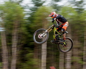 15th May 2016 UK The British downhill series race held in Fort William Nevis Range, Highlands of Scotland Kenny Ferguson/ Scottish Viewpoint uk,u.k,Great Britain,GB,G.B,Scotland,Scottish,1 person,daytime,outdoors,activity,activities,cycling,cyclist,cyclists,bike,bikes,biking,biker,bikers,bicycle,bicycles,mountain